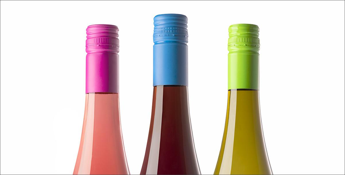 Foto von Weinflaschen
