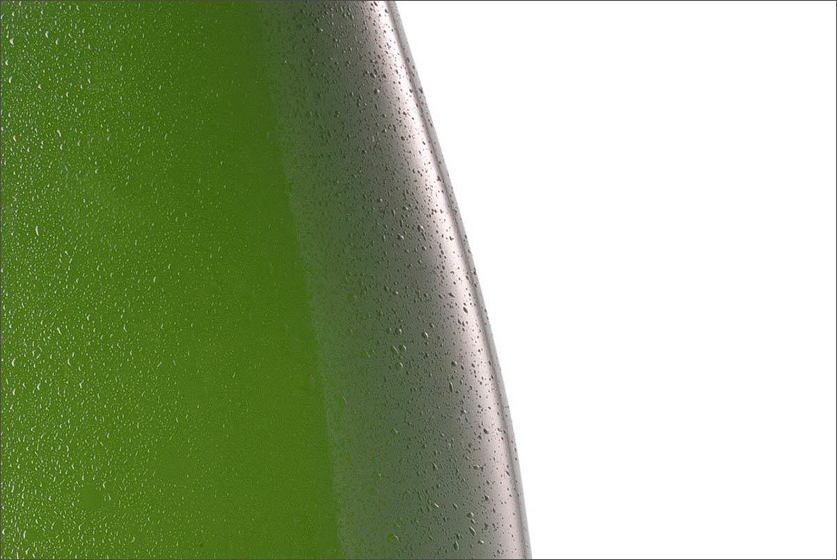 Foto einer Sektflasche