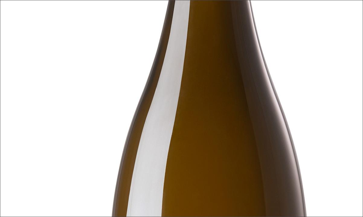 Foto einer Weinflasche