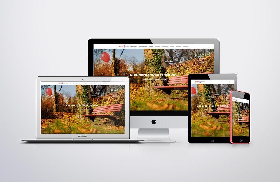 Apple Devices mit Website