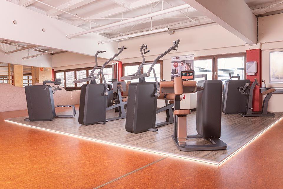 Foto des Milon-Zirkels im Fitnessstudio