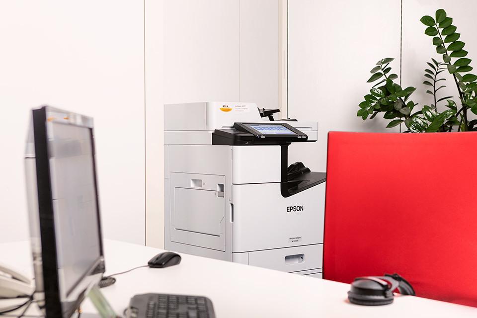 Foto eines Tintenstrahldruckers von Epson