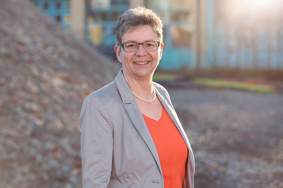Foto der Freiburger Stadträtin Irmgard Waldner