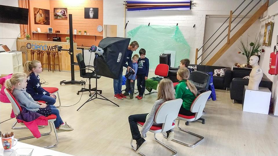 Kinder-Workshop Fotostudio