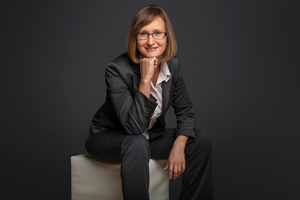 Business-Porträt einer Frau